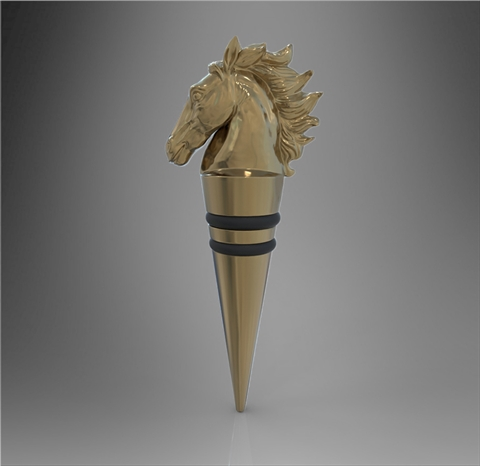 Stallion Bottle Stopper